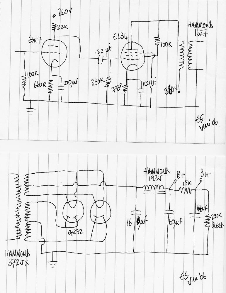 Aikido Preamp Schematic