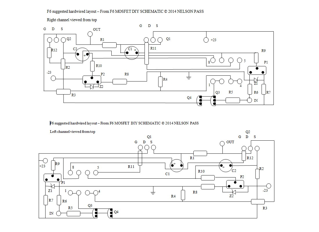Vitalstates Amplifiers Pass Labs Aleph2 Diy Amplifier Kkpcb Layout F6 Cct Temps