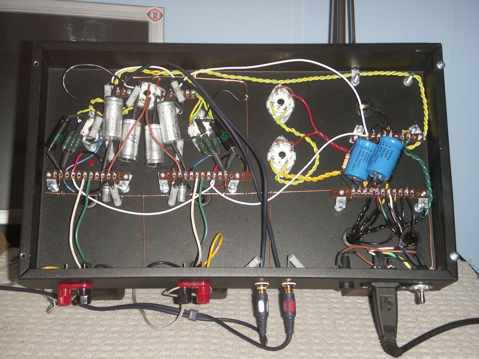 rocky-wire2 Hand Wired Tube Amp Wiring Diagram on